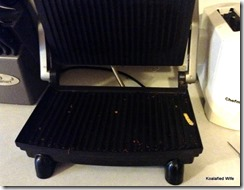 Cleaning Panini Press 1