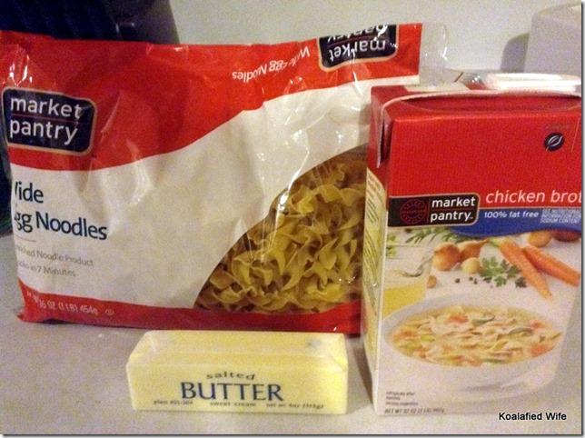 Buttered Noodles 2