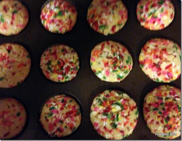 Funfetti Cupcakes 18